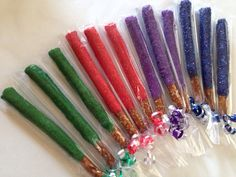 12 Lightsaber Star Wars Pretzels Rods Sticks by CandKSweetShoppe