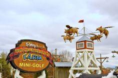 Old McDonald's Farm Mini Golf has 54 amazing holes of interactive barnyard family fun!