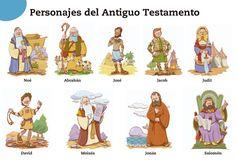 mapas biblicos del antiguo y nuevo testamento | ... Religión Evangélica: Imágenes - Personajes del Antiguo Testamento
