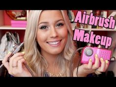 Dinair Airbrush Makeup Review/Demo...SO GETTING ONE OF THESE <3