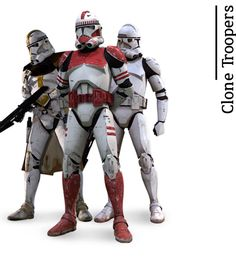 """Clone Troopers - from """"A Fans Guide to Star Wars"""" by daniekl #StarWars"""