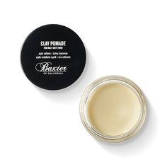 Baxter Of California Firm Hold / Matte Finish Clay Hair Pomade: Baxters of California- Firm hold / Matte Finish Clay Hair Pomade.   Award-winning and customer-favorite styling clay separates, defines and molds hair in place to deliver a strong, pliable hold all day. Infused with natural ingredients such as clay and beeswax, the texturizing, paraben-free formula works for any style. Baxter of California pomades can be mixed and matched to achieve a multitude of hair styles. Winner of Men's…