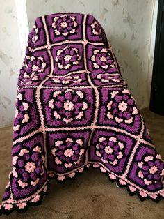 Crochet+Granny+Squares+Lap+Afghan...+Crib+blanket
