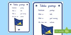 Children can learn some basic Tokelau greetings through this lovely poster. Culture, Display, Learning, Children, Poster, Floor Space, Young Children, Boys, Billboard