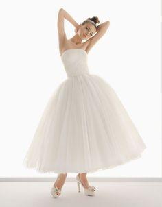 Vestidos de novia estilo bailarina