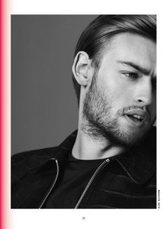 Paul Wetherell Shoots Actor Douglas Booth for Modern Weekly Magazine