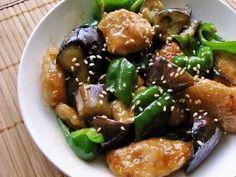なす&ピーマン&鶏むね肉で簡単中華!の画像
