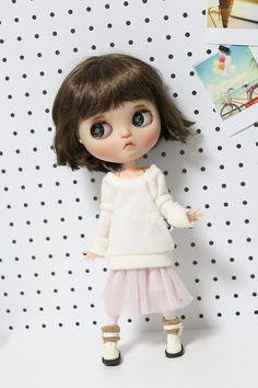 Honest Blythe Sweater Jersey Blythe O Azone Attractive Fashion Azone Doll Sweater