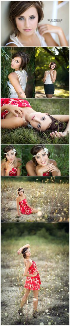 Kaylie | Chicago Senior Photography | Susie Moore Photography. Nice posing ideas in this strip of portraits.