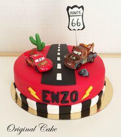 Gâteau Cars, Flash Mc Queen !