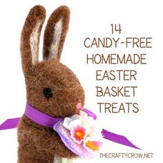 The Crafty Crow 14 candy-free Easter basket treats you can make