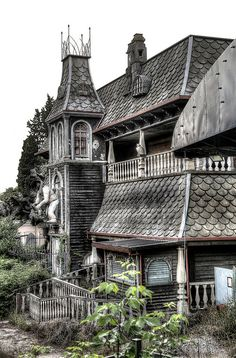 Horror House - abandoned amusement park