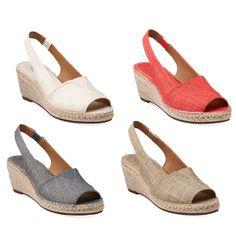 Clarks spring collection   espadrilles   sandals   spring trends