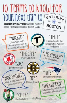 "Our Wicked 'Smaht"" Guide To Understanding BOSTON Slang"