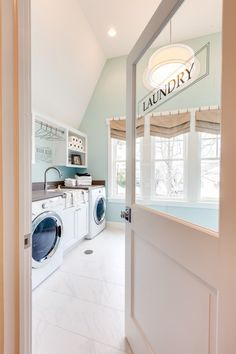 Beautiful laundry room! Click picture for full house tour