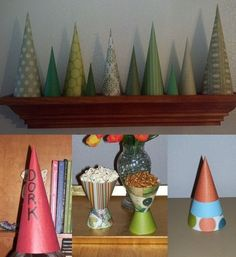 Instructions for  Cones for Crafts and More