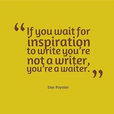 writer or waiter...