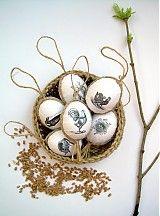 Veľká Noc - Hniezdo plné vajíčok - 3493996