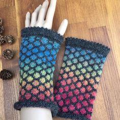 Fair Isle Knitting, Hand Knitting, Fingerless Gloves, Arm Warmers, Knit Crochet, Winter, Design, Knitting And Crocheting, Gloves