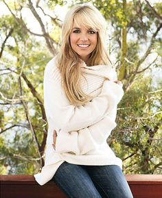 Britney Spears.  I want that sweater...