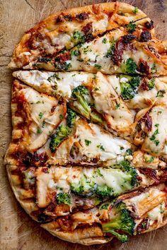 Grilled Chicken // Sun-dried Tomato Pizza