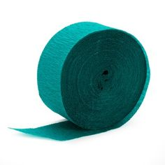 teal crepe paper birthday express