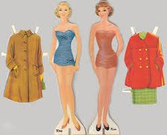 I have paperdolls just like these from my childhood.As a matter-of-fact,I still have all my paperdolls from my childhood and I have them on my facebook photos.