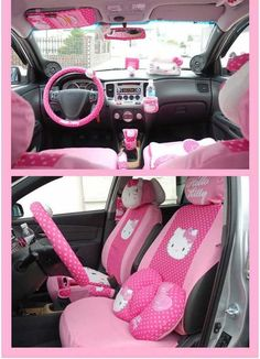 Hello KITTY Car Accessories