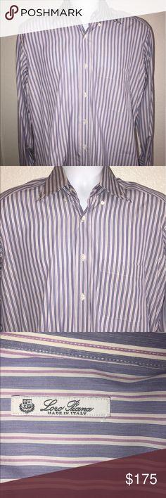 Men's designer shirt Men's authentic Loro piana shirt in excellent condition Loro Piana Shirts Dress Shirts
