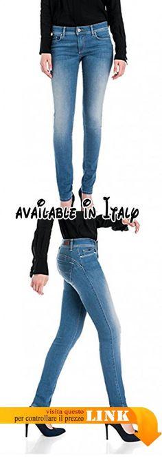 B078XKFJ7C : Salsa - Jeans - Donna Blu Blau.