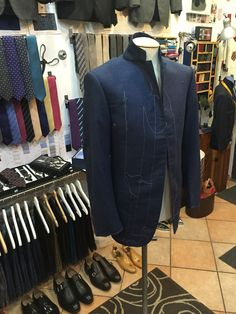 First fitting suit