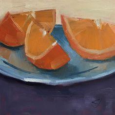 """Daily Paintworks - """"Go Go Go"""" - Original Fine Art for Sale - © Carol Johansen"""