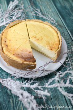 Käsekuchen mit Mascarpone