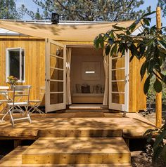 An eco-friendly home designed by Vina Lustado of Sol Haus Designs in Ojai, California.