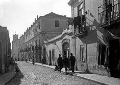 Lisboa de Antigamente: Ermida (do Palácio) do Conde de Soure à Estr. da P...