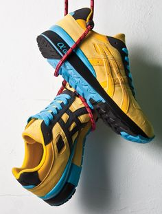 superior quality fa6b1 0a70f BAIT X ASICS GT-II (YELLOW RING) Fringues, Chaussures Pour Hommes,