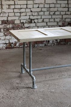 Ruokapöydän runko - Ruokapöydät - Putkiliitoksilla kokoat oman unelmiesi huonekalun! Domus Classica collection