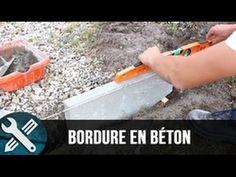 DIY : créer une bordure droite en béton au jardin