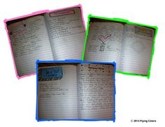 I wonder... Printable writing prompts for students writer's notebooks & journals