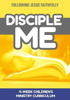 30 Best Disciple Me Childrens Ministry Curriculum Ideas Images
