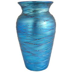 Ref: G0702  Attributed to Durand Art Glass (Vineland, NJ, 1924-31) Unsigned.  c. 1925 W 4.5 D 4.5 H 8 in.