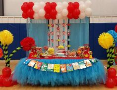 Dr Seuss / Birthday  Emily and Emil 8th Dr Seuss Birthday Party  & 277 best Dr. Seuss Party Ideas images on Pinterest | Birthday party ...