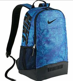 9e595a14d3c4 Nike Classic Sand Backpack Computer Tablet Bag Blue Black