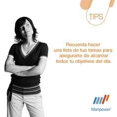 Tips Recordar - Manpower Perú