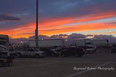 Sunset in Las Vegas Motor Speedway