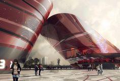 Shenzhen Cultural Complex / Mecanoo