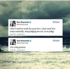 Dan Reynolds....the best tweet ever..