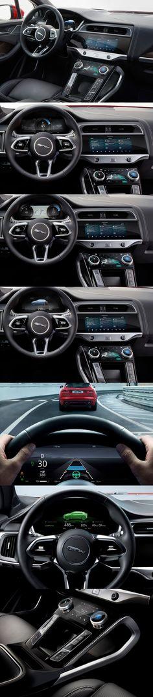 Jaguar I-Pace 2019 UX-Design