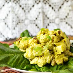 Coronation Chicken, or curried chicken salad, was originally developed to celebrate Queen Elizabeth's coronation in 1953. This updated version is fruity, nutty, savory, sweet and completely delicious!