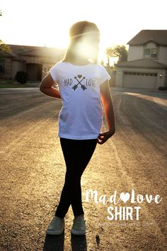 It's time for another Taylor Swift-inspired shirt! This time, learn how to create your own Mad Love Shirt using heat transfer vinyl from Expressions Vinyl.